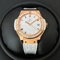 Hublot Classic Fusion Quartz 33mm Rosegold Diamonds