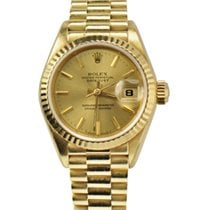 Rolex Ladies President Datejust Yelow Gold REF: 69178