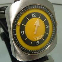 Longines Comet vintage mysterious 70's yellow dial