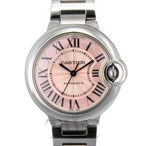 カルティエ (Cartier) Ballon Bleu de Cartier Pink/Steel 33mm - W6920100