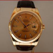 """Rolex Datejust """" Oro - Pelle """""""