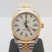 Rolex Datejust 18k Gold Steel 31mm