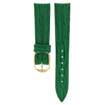 Baume & Mercier Green Leather Strap 16.5mm/14mm