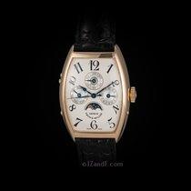 Franck Muller 18K Rose Gold Perpetual Calendar Moonphase