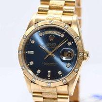 Rolex Day Date Gold Borke Uhr Ref.18248 von 1989