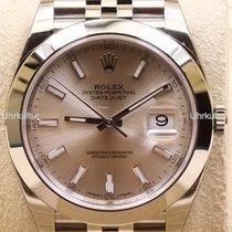 Rolex Datejust 41, Ref. 126300 - silber Index ZB/Jubileeband