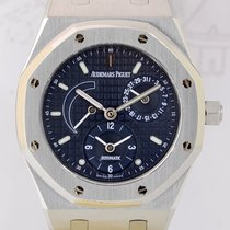 Οντμάρ Πιγκέ (Audemars Piguet) Royal Oak Dual Time Stahl blue...
