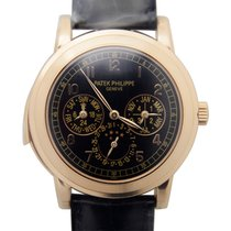 Patek Philippe Grand Complications 18k Rose Gold Black...