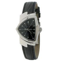 Hamilton VENTURA QUARZO Steel & Black 36,5x24mm H-24211732