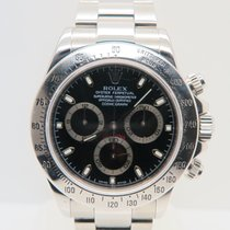 Rolex Daytona Black Dial 40mm Ref. 116520 (Box&Papers)