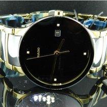 Rado Centrix Diamonds Quartz Yellow Steel-Black Ceramic 38mm