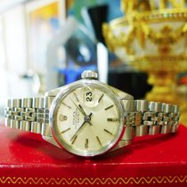 Rolex Oyster Perpetual Date 6516 Stainless Steel Watch Circa 1968