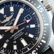 Breitling SuperOcean 44 Special Steel & Rubber Black...