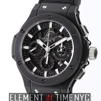 Hublot Big Bang Aero Bang Black Magic 44mm Ceramic Black...