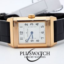 Jaeger-LeCoultre Reverso Small Duetto 18K Rose Gold Diamond T