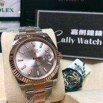 Rolex Cally - 2016 New Model DATEJUST II126331 Silver Stick [NEW]