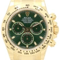 Rolex Cosmograph Daytona 116508 Green Index Tachymetre Yellow...