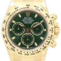 Rolex Cosmograph Daytona 116508 Green Index Tachymetre Yellow...