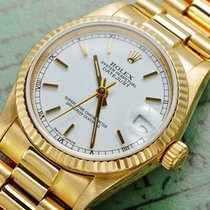 Rolex Datejust medium 31mm 18k Gold 68278 BOX & Papiere