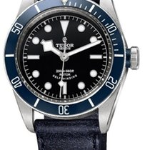 Tudor Heritage Black Bay Strap Watch M79220B-0002
