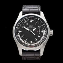 IWC Pilot's WorldTimer GMT Stainless Steel Gents IW326201...