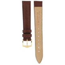 Hirsch Windsor Brown Leather Strap 16mm