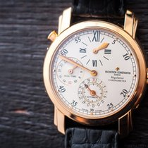 Vacheron Constantin Malte Dual Time Regulator 18k Rose Gold