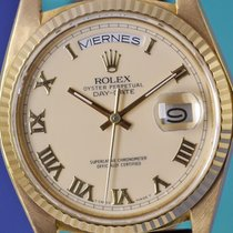 Rolex Day-Date 18038, ivory dial, Full Set, nice patina