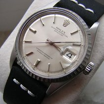 Rolex Oyster Perpetual Datejust, white gold bezel /steel, ref....