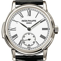 Patek Philippe 5078P-001 Grand Complications 38mm White Roman...