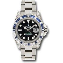 Rolex GMT Master II White Gold