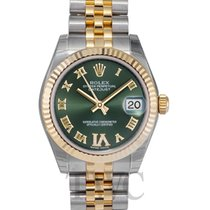 롤렉스 (Rolex) Datejust Midsize Green/18k gold 31mm - 178273