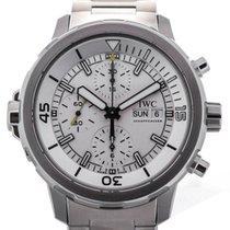 IWC IW376802 Aquatimer Chronograph Swiss Automatic Silver Dial...