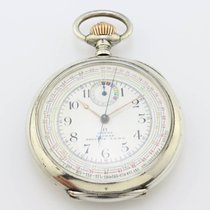 Omega Chronograph 900 sterling silver 1910