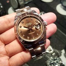Rolex 126331 Chocolate Dial with Diamonds Datejust 41mm