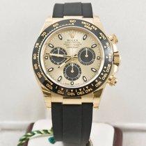 Rolex Daytona 116518 Ceramic Bezel Champagne Face Box &...