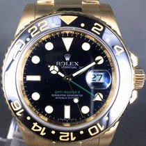 Rolex GMT Master II ref: 116718LN  full yellow gold