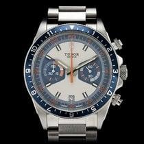 "Tudor Heritage ""Monte Carlo"" Chronograph Blue 70330B"