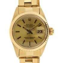Rolex Datejust Lady 6917 In Yellow Gold 18kt, 26mm
