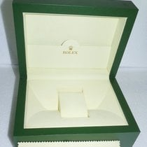 Rolex AUTHENTIC ROLEX GREEN WOODEN WATCH BOX / CASE HOLDER