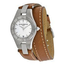 Baume & Mercier Linea quartz watch Ladies round 27mm...