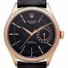 Rolex Cellini Date Ref. 50515 Schwarz  LC100