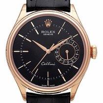 ロレックス (Rolex) Rolex Cellini Date Ref. 50515 Schwarz  LC100