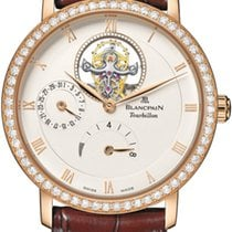 Blancpain Villeret Tourbillon 8 Day Power Reserve  6025-2942-55b
