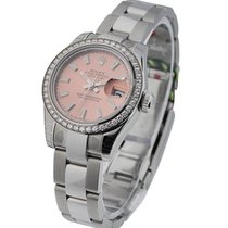 Rolex Unworn 179384sio Datejust Ladies 26mm in Steel with...
