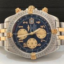 Breitling Chronomat Evolution Ouro & Aço 44mm Automatico