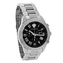 Versace Landmark Mens Swiss Quartz Chronograph Watch P6C99GD00...