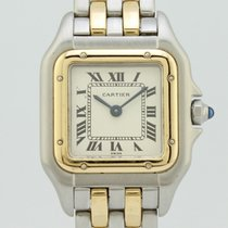 Cartier Panthere Quartz Steel-Gold Lady 1057917