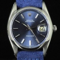 Rolex Oysterdate Precision 6694  Blue Steel Manual