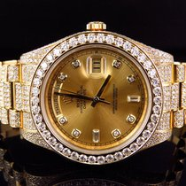 Rolex 18k Mens Yellow Gold Rolex Day-Date 2 Presidential 41MM...